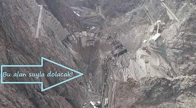 Hiç barajın içini gördünüz mü?