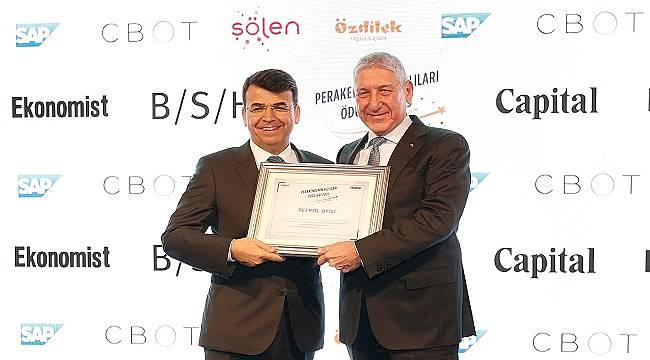 Petrol Ofisi 'Perakendenin Hızlıları Ödülü' aldı!