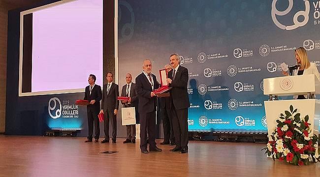 'Şehir Çöplerinin Bertarafı ve Elektrik Enerjisi Üretimi' projesiyle ödül aldı!