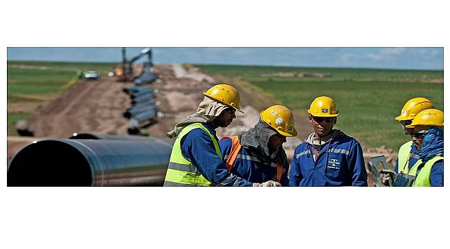 Tekfen: Rusya'da doğal gaz boru hattı yapacak