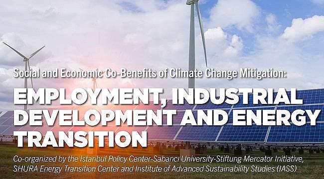 'Türkiye Enerji Dönüşümünde İnovasyon' çalışmasını sunacak!