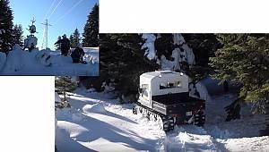 FİLM GİBİ: 1,5 metre kar (Vide'olu)
