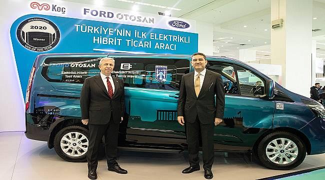 ANKARA'DA YOLA ÇIKIYOR: İlk yerli şarj edilebilir - hibrit - elektrikli ticari araç