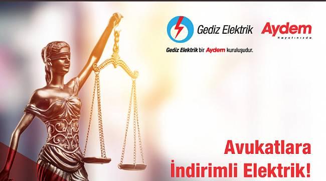Avukatlara 12 ay indirimli elektrik!