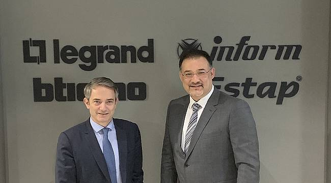 Bina, elektrik ve dijital altyapı ürün ve sistemleri geliştiren Fransız Legrand Türkiye yatırımlarını artırıyor!