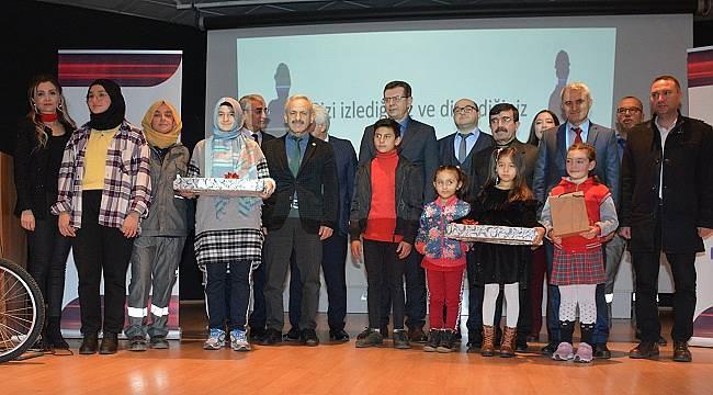 Çocuklar enerji tasarrufunu kağıda döktü: UŞAK'TA