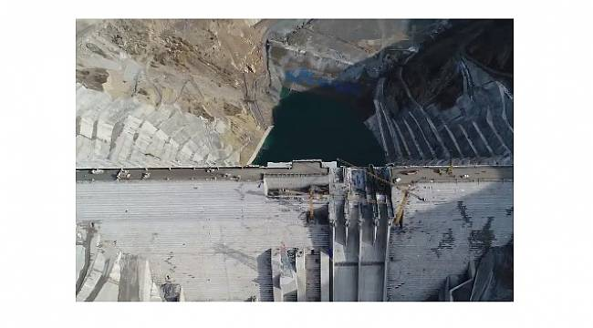 SİİRT ŞİRVAN'DA: Çetin Barajı'nda su tutulmaya başlandı