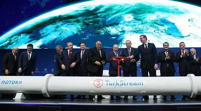 Yılda 31,5 milyar metreküp doğal gaz taşıyacak!