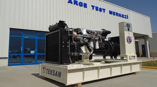 275 – 550 kVA güç aralığında Türkiye'nin ilk yerli jeneratörünü üretti!