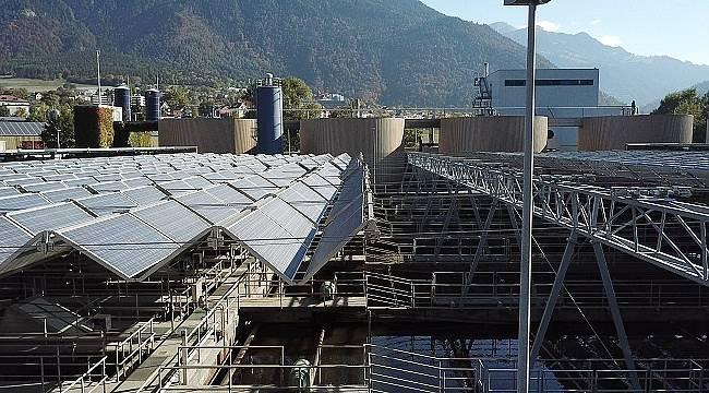 Dünyanın ilk katlanabilen güneş paneli'