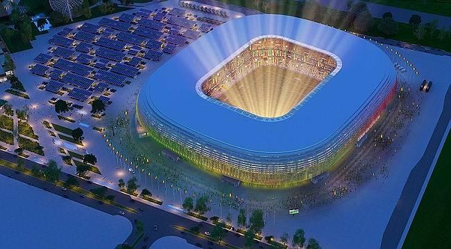 Enerji - su - malzeme - atıklar ile ekolojik Stadyum olacak!