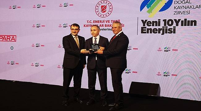 Limak Enerji 'Ödül' aldı!