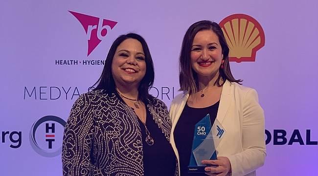Shell & Turcas Perakende Satışlar Pazarlama Direktörü Seher Poyrazoğlu  Türkiye'nin En Etkin 50 CMO'sundan biri oldu!