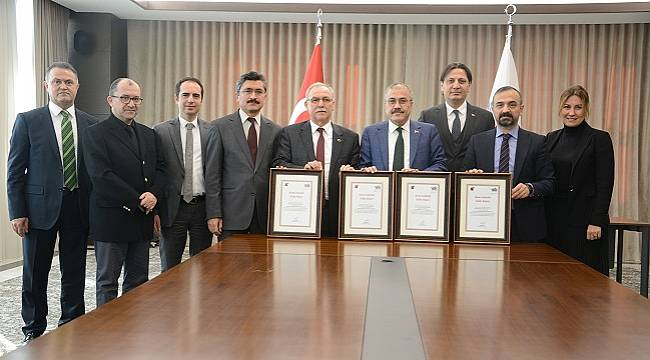 TÜİK'ten: EPDK'ya 'Kalite belgesi' verdi
