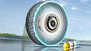 'Sürdürülebilir - yüzde 100 dönüşümlü' lastik üretti!