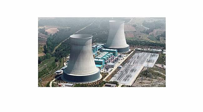 Doğal gaz santralleri...