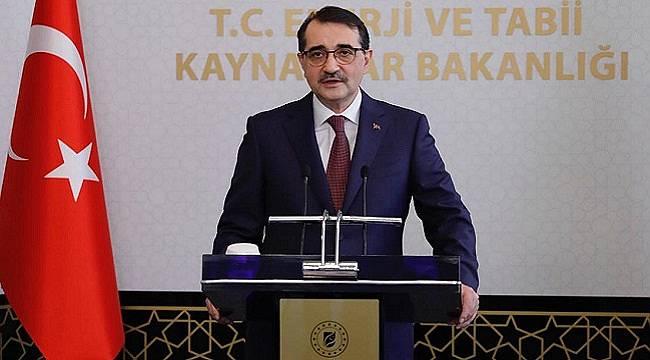 Enerji Bakanı Dönmez: Milletimizin başı sağolsun