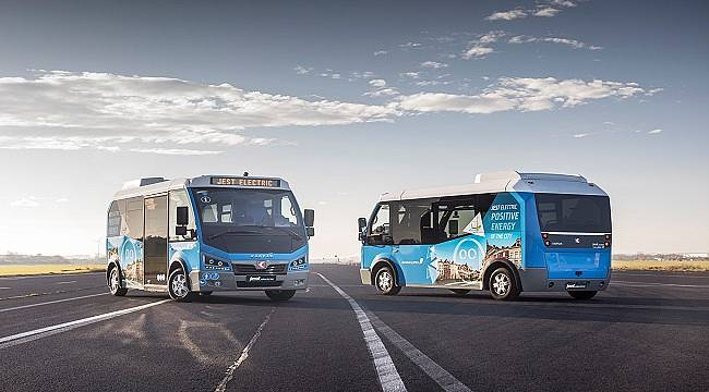 10 Adetlik Elektrikli Minibüs İhalesini Kazandı!