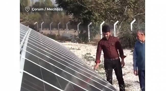 100 hanelik köyün elektriğini karşılıyor - VİDEOLU