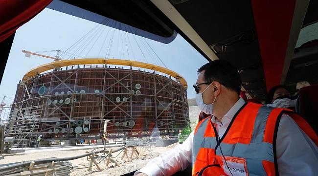 Enerji Bakanı Dönmez: ' Akkuyu 2023'te enerji üretmeye başlayacak'