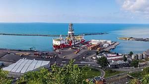 FATİH: Trabzon'dan Tuna-1 kuyusu için yola çıktı