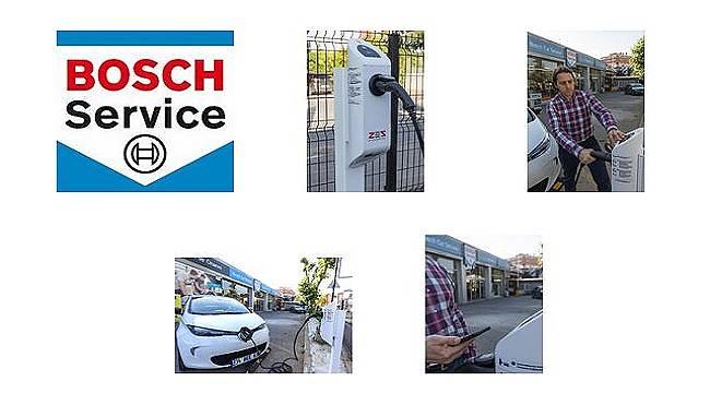 Bosch Car Service'ler: Zorlu Enerji iş birliğiyle elektrikli araçlara da hizmet...