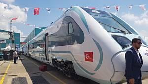 Türkiye'nin ilk yerli ve milli elektrikli trenin...