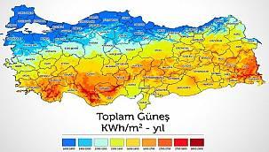 İl il Türkiye Güneş Enerjisi...
