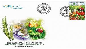 '2020 Uluslararası Bitki Sağlığı Yılı' konulu anma pulu çıkardı!