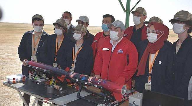 Roketsan Roket Yarışması başladı: ÖDÜLLER - 50 BİN - 40 BİN - 30 BİN TL