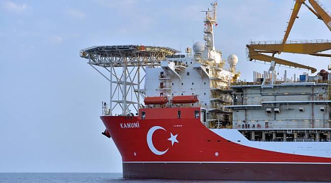 Karadeniz'e Açıldı: 227 metre uzunluk - 42 metre genişlik - 12 bin 200 metresondaj
