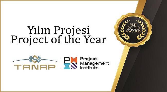 TANAP'a Uluslararası 'Yılın Projesi' Ödülü!