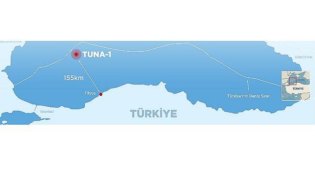 TPAO has made a second discovery in the lower section of Tuna-1 well...