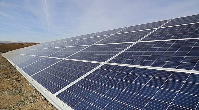 999 KWE'lik Güneş Enerji Santrali kuruyor!