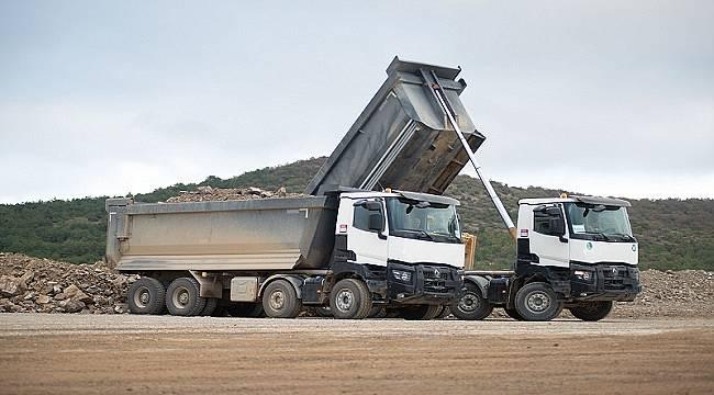 Renault Trucks K Serisi 'MANYEZİT' ocaklarında...