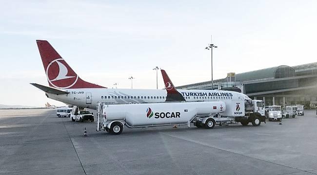 Adnan Menderes Havalimanı'nda yakıt teminini kendi tesisinden yapmaya başladı!