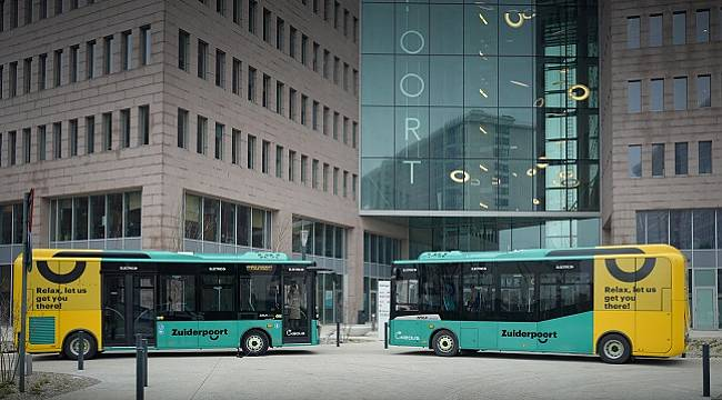 Delivered the first Atak Electric buses to Belgium