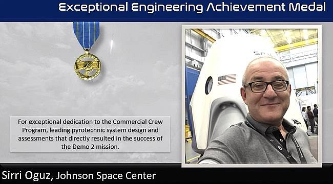 Exceptional engineering achievement medal