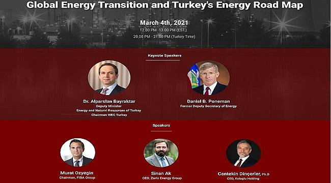 Global Energy Transition and Turkey's Energy Road Map