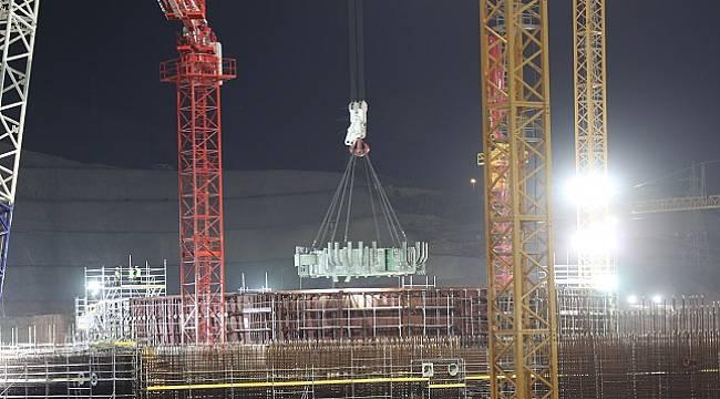 Akkuyu NGS: 176 ton ağırlık - 9,35 metrelik çap - 2,2 metre yükseklik - karbon çelikten imal edildi