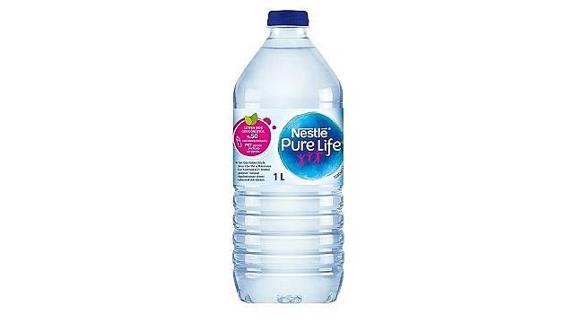 Yüzde 50'si geri dönüştürülmüş malzemeden üretilen çevre dostu şişe!