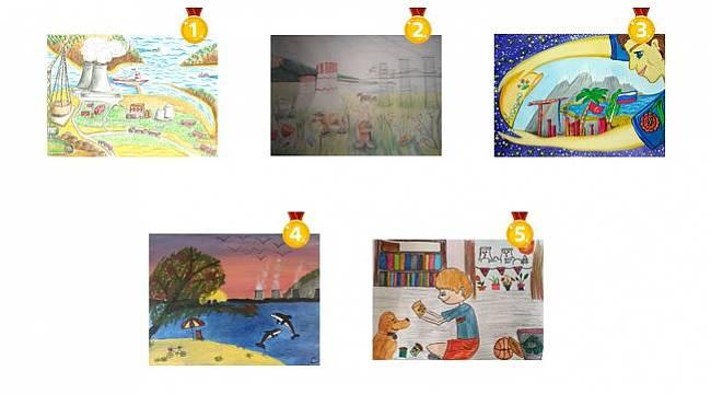 Akkuyu Nükleer'in Ulusal Çocuk Resim Yarışması'nın sonuçları belli oldu!