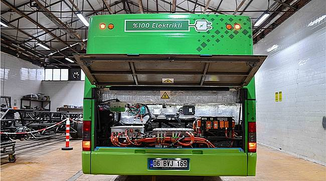 Energy news from Turkey... Diesel bus converted to electric!