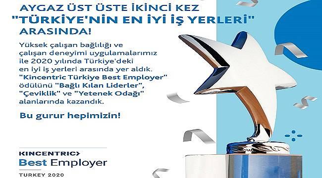 Aygaz Türkiye'nin 'En İyi İş Yerleri' Arasında!