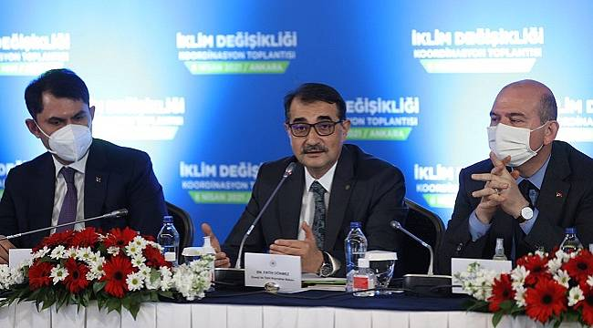 Enerji Bakanı Dönmez: İklim Değişikliği Koordinasyon Toplantısı...