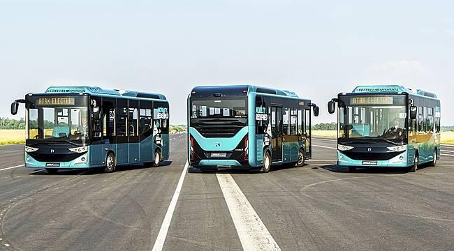 Karsan Elektrikli Araçlarıyla Romanya'da ...