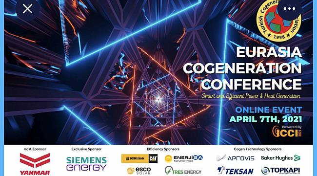 The Eurasia Cogeneration Conference starts tomorrow