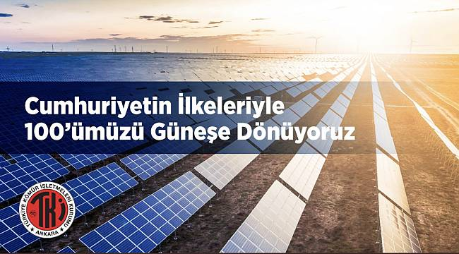 Türkiye Kömür İşletmeleri 'Güneş ve Rüzgardan...'
