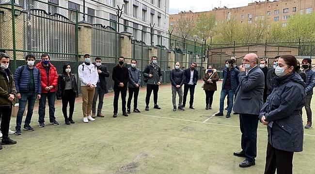 Moskova'daki Türkiye Büyükelçiliği, Akkuyu Nükleer A.Ş. Eğitim Programı Katılımcılarını Kabul Etti