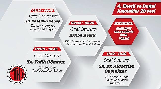 4. Enerji ve Doğal Kaynaklar Zirvesi - TKİ!